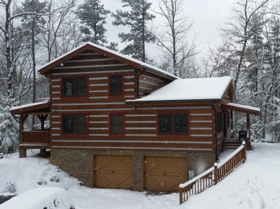 Appalachian Escape cabin Rent winter free night